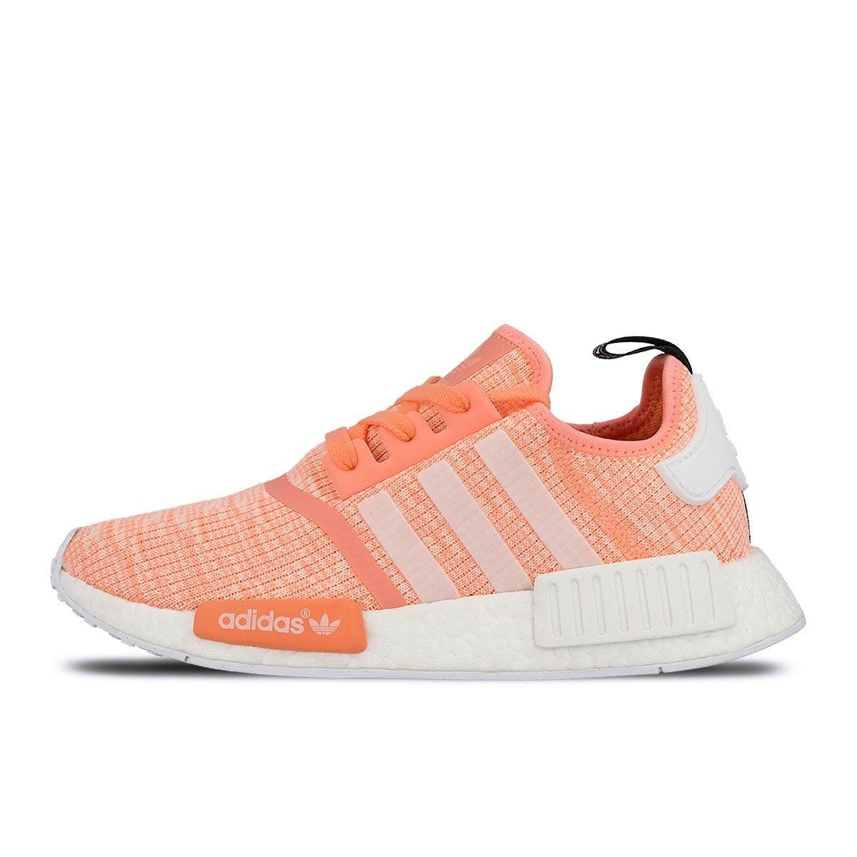 b6eadb4d2 ... Best Wholesaler Adidas NMD R1 W Glitch Sun Glow Coral Pink Haze BY3034  US Womens Size ...