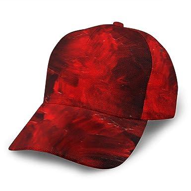 Liliylove Red Cases Gorra de béisbol Ajustable para Mujer y Hombre ...