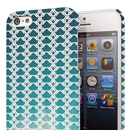 Koveru Back Cover Case for Apple iPhone 5S - Flow Design
