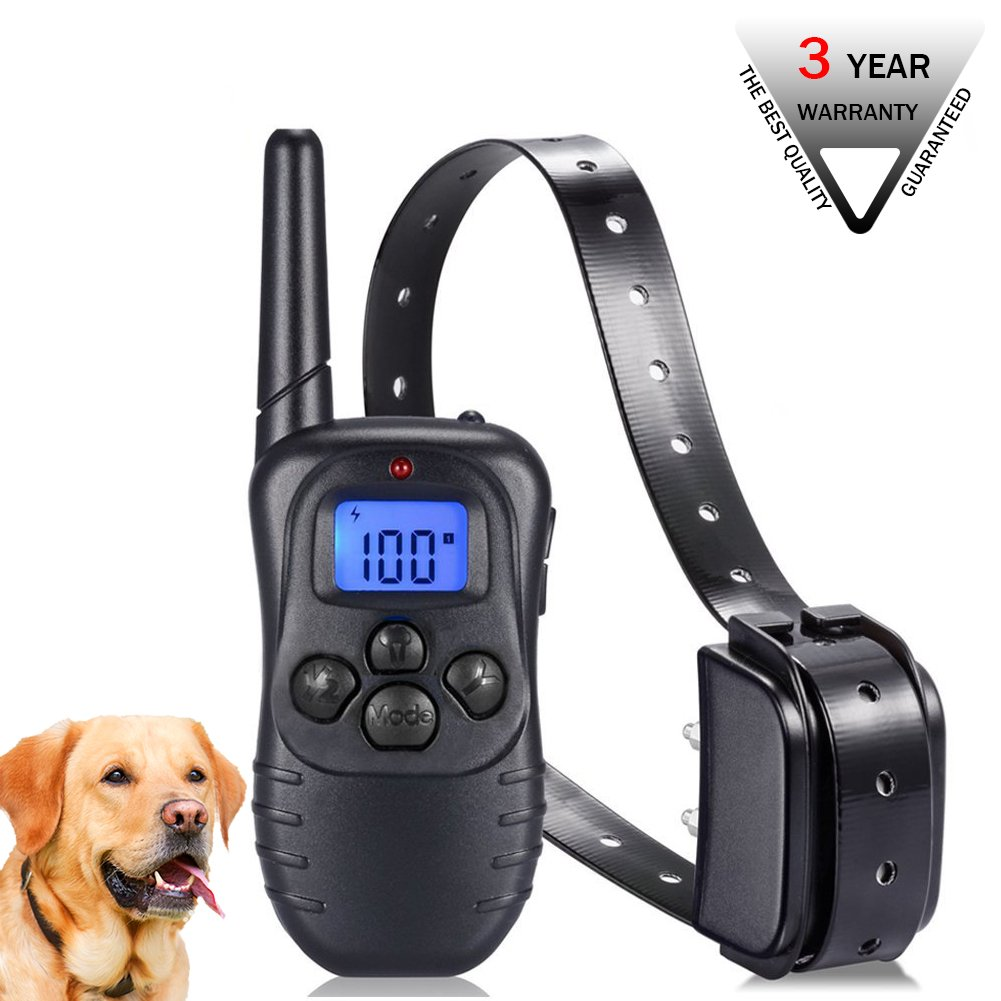 Dog Training Collar for Small Medium Large Dogs(15-100bls) - Rechargeable Rem
