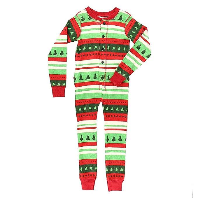 Xinvision Flapjacks Onesie Conjunto de Pijamas Familiares de Navidad - Adulto Niños y Infante PJs Xmas
