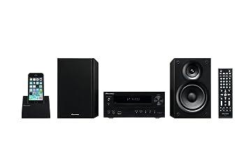Pioneer X-HM32V-K - Microcadena DVD (estéreo, 60 W, compatible iPhone 4/5, iPad, USB, HDMI), color negro: Amazon.es: Electrónica