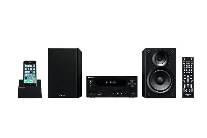 24 opinioni per Pioneer X-HM32V-K Micro Hi-Fi, USB, CD/DVD, HDMI, Bluetooth, Nero/Antracite