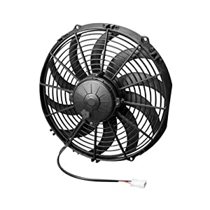 """Spal 30102029 12"""" Swept Blade Fan"""