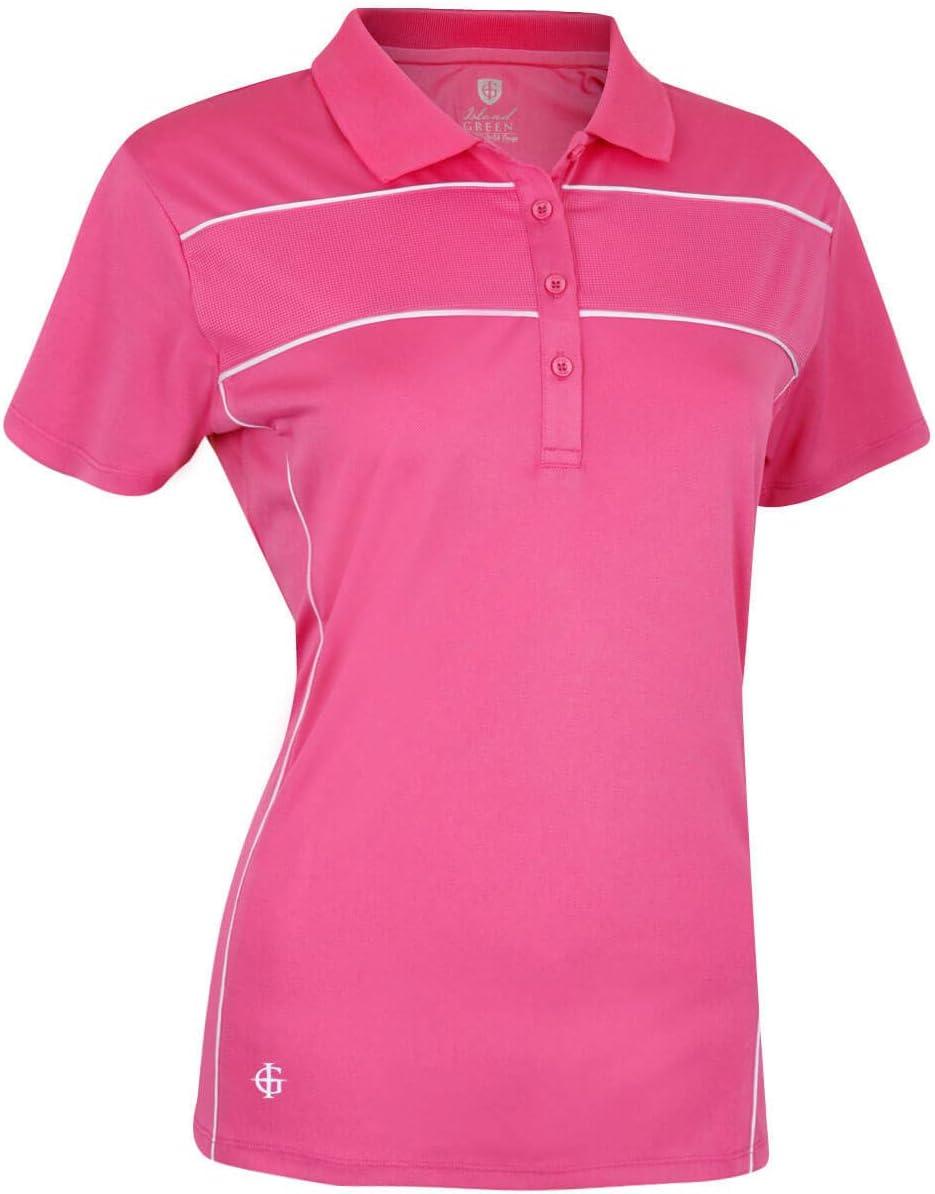 Island Green Iglts1881 Polo de Golf Femme