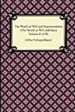 Image of 2: The World as Will and Representation (The World as Will and Idea), Volume II of III