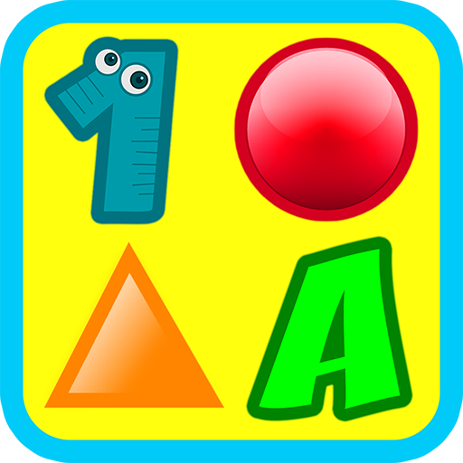 (3 Preschool Activities in One App - Fun Educational Kids Games (ABC letters, learn numbers, teach colors, shapes, 123 counting, matching objects and train memory) for Toddlers & Kindergarten Explorers)