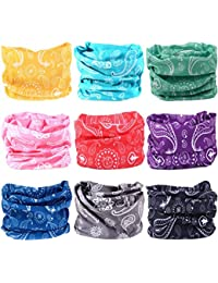 Headwear Wide Headbands Scarf Head Wrap Mask Neck Warmer by