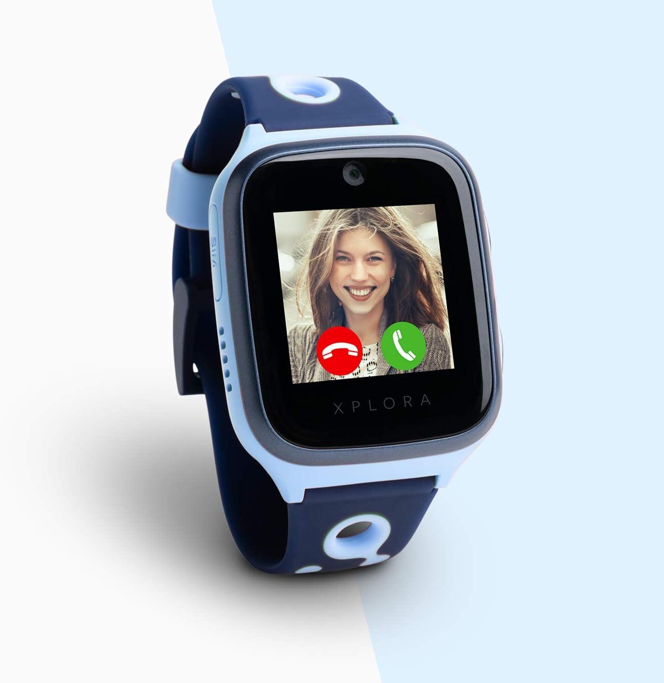 Xplora 4 Kids - Smartwatch para niños, Color Azul océano