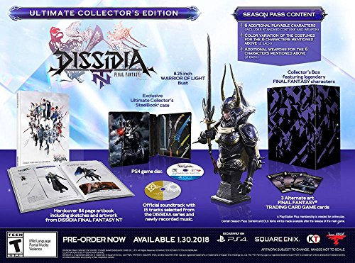 Dissidia Final Fantasy NT Ultimate Collector's Edition
