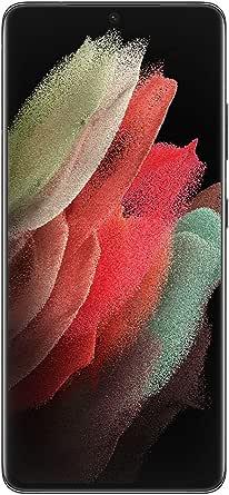 "Smartphone Samsung Galaxy S21 Ultra 5G 256GB 6.8"" 108+12+10+10MP Preto"