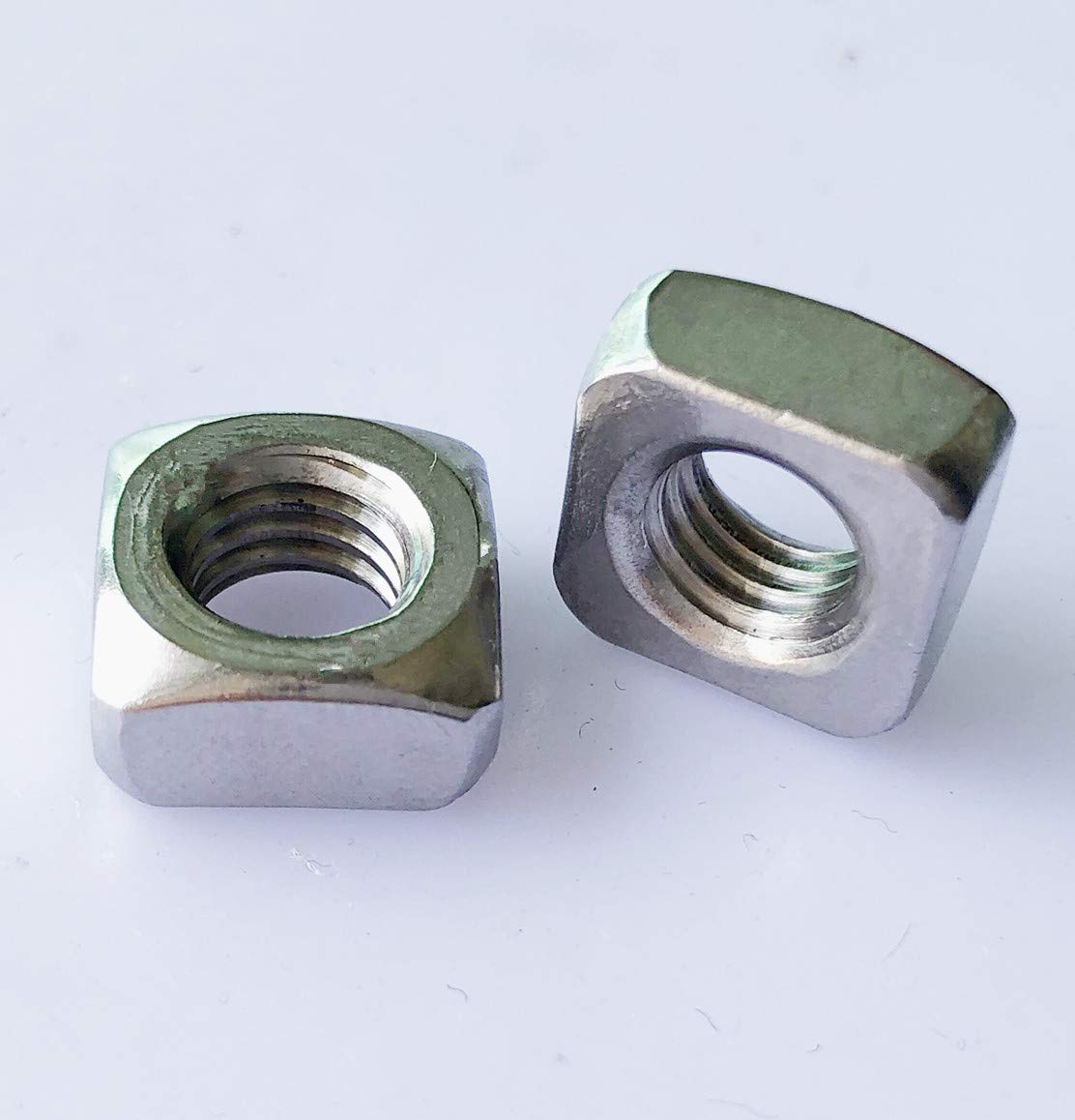 100pcs 3//4-10 Square Nuts Heavy Steel