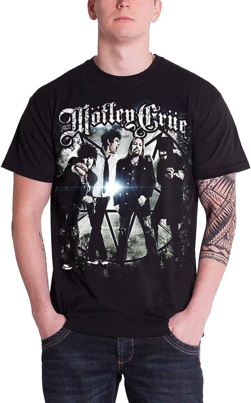 NEW /& OFFICIAL! Motley Crue /'Group Photo/' T-Shirt