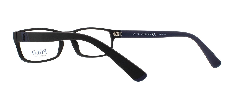 1e5a8adb452 Polo Men s PH2154 Eyeglasses Matte Black 54mm at Amazon Men s Clothing  store