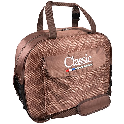 (Classic Equine Horse Roping Single Compartment Padded Basic Rope Bag Chocolate)