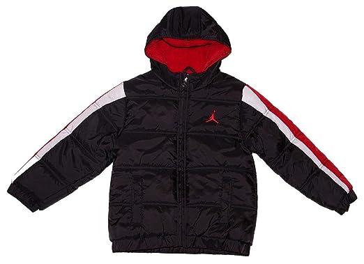 Nike Air Jordan Acolchado con Capucha Chaqueta, jóvenes ...