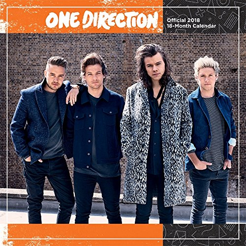 One Direction 2018 Wall Calendar