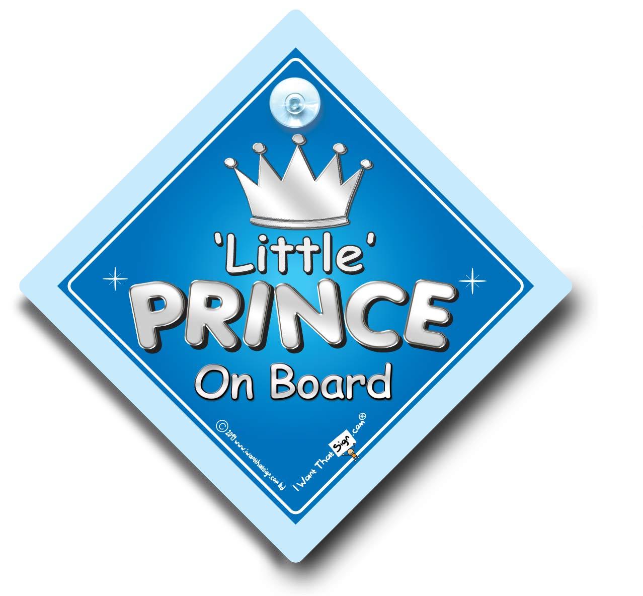 Little Prince On Board, Little Prince On Board Car Sign, Car Sign ...