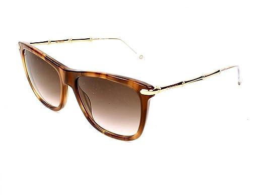 293058a57891a Gucci Lunettes de soleil Pour Femme 3778 S - HQX JS  Red Horn   Gold ...