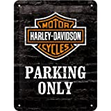 Nostalgic Art 26117 Harley Davidson Parking Only-Motorcycle Small Metal Sign 15 x 20 CM
