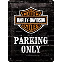 Cartel 15 X 20 Harley Parking Only