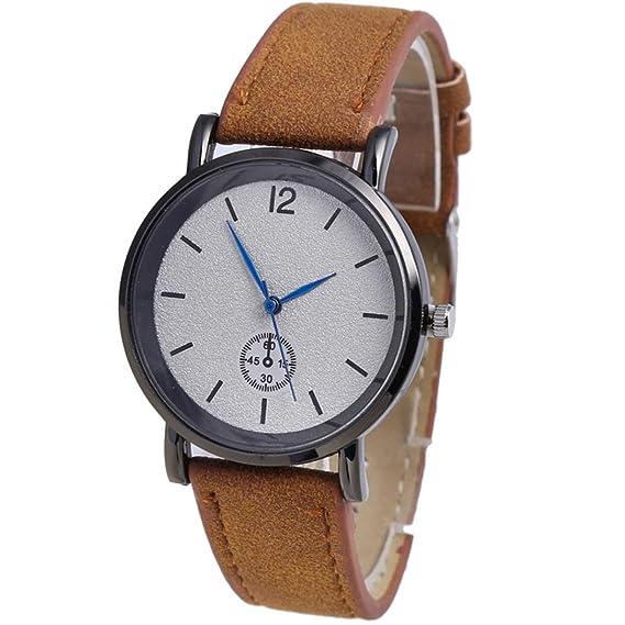 Siswong Relojes Unisex Correas Cristal Acero Pulseras de Actividad Cuarzo Analógico Reloj de Pulsera Moda (