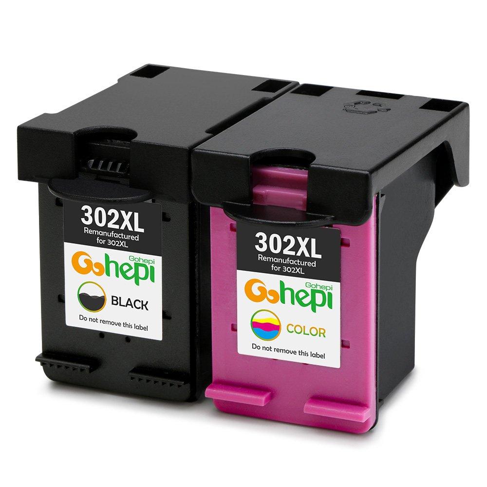 Gohepi XL Compatible para Cartuchos de tinta HP XL  Negro Tri