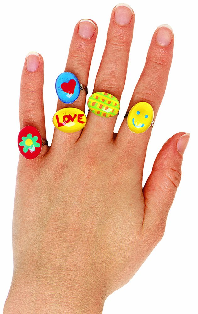 Creativity for Kids 1451007 10 Pop-Art Rings
