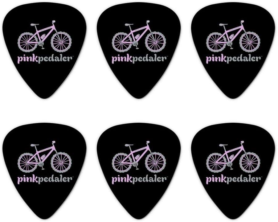 Rosa Pedaler para bicicleta de montaña Logo – púas de guitarra de ...