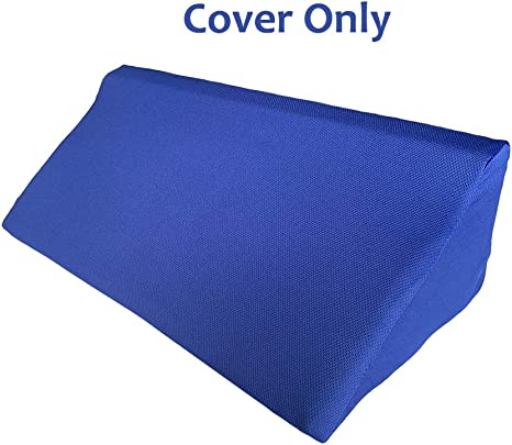 Amazon Com Wedge Pillowcase Bed Wedge Pillow Cover With Zippers