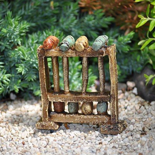 (Miniature Fairy Garden Vintage Croquet Set)