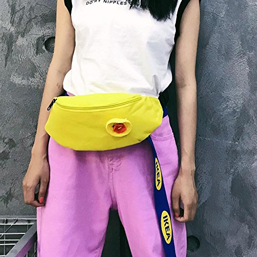Everpert rosa Amarillo Rosa para Everpert al Bolso hombro mujer rnwqrZXF