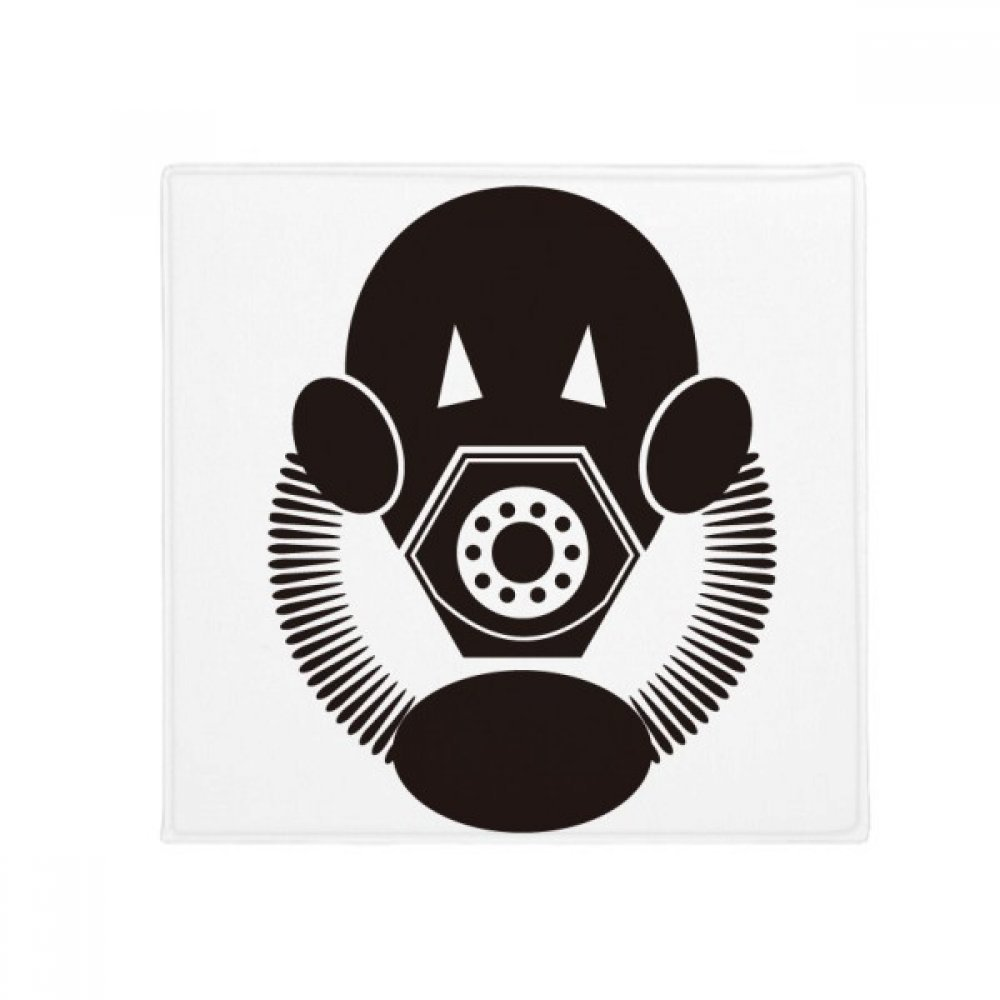 DIYthinker Pollution Special Biochemical Gas Mask Anti-Slip Floor Pet Mat Square Home Kitchen Door 80Cm Gift