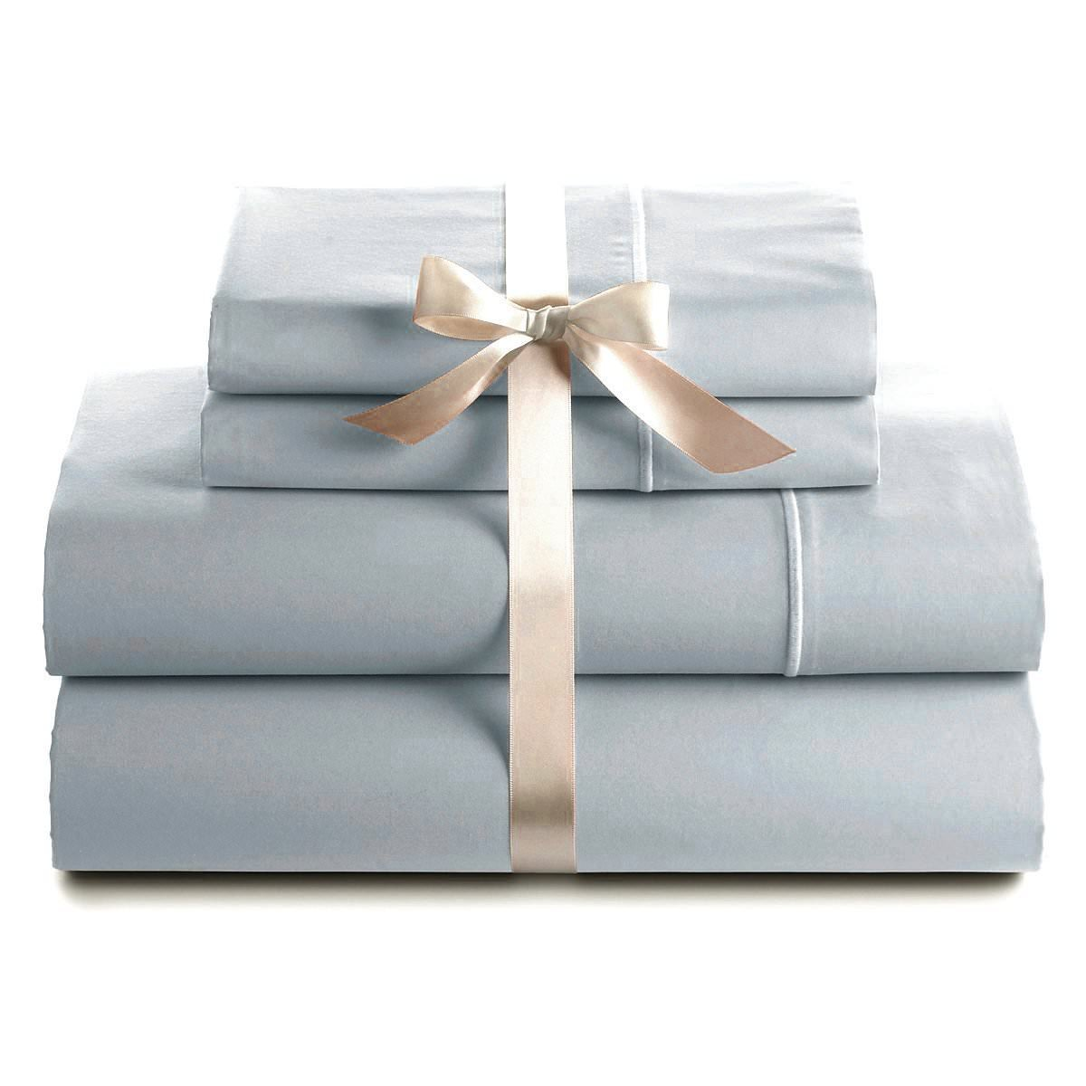 Bluemoon Homes Genuine Premium Egyptian cotton 1000 Thread Count Italian Finish Silver Grey 4-Piece Sheet Set, 19 inches Deep Pocket, Solid, Size Full