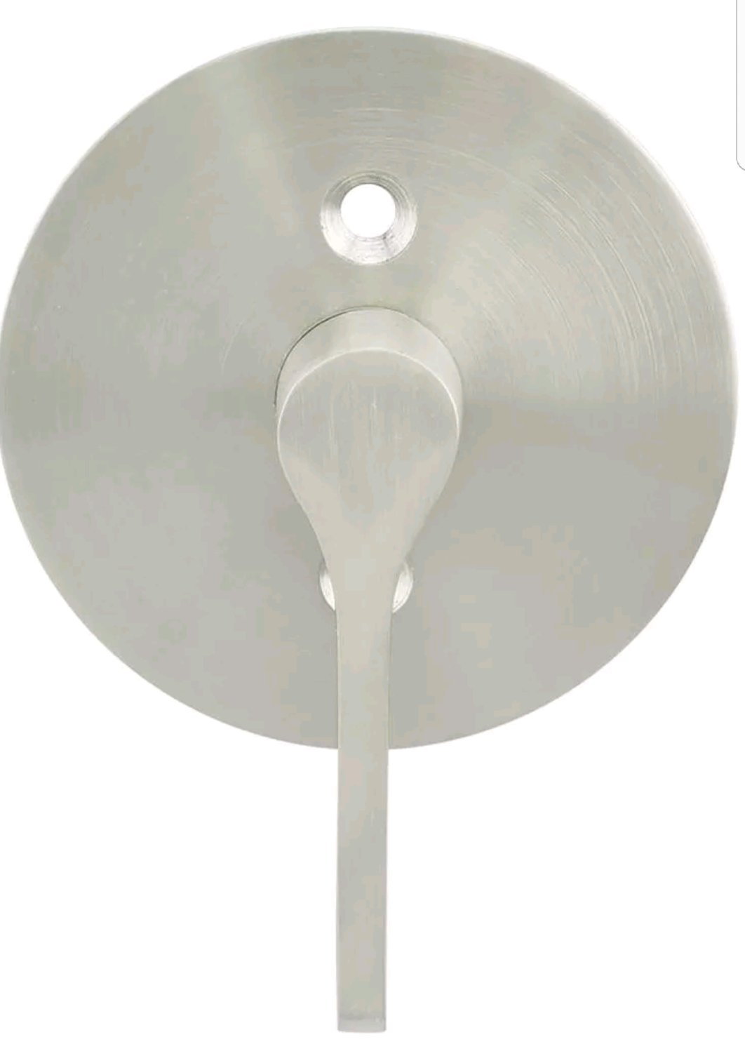 INOX EC1217-BD4214-32D 2-1/4'' BS TT17 ADA Turn Barn Door Privacy Lock with Round Rose, 2.25'' Face, Satin Stainless Steel