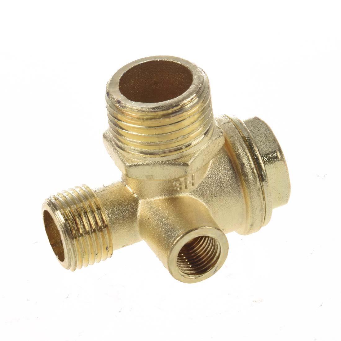 SODIAL(R) Valvula de Retencion para Compresor de Aire Conector de Tubo 3/8