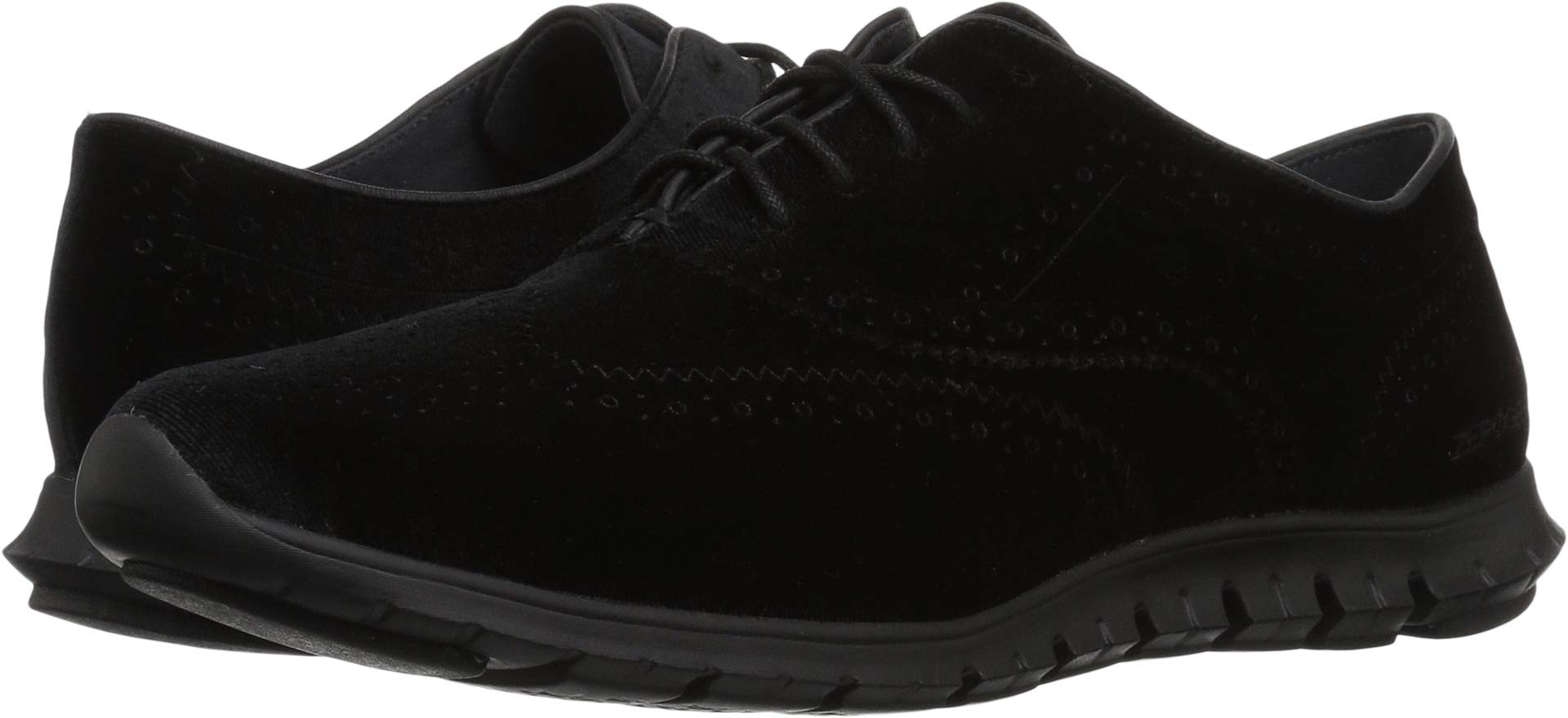 Cole Haan Women's Zerogrand Wing OX, Black Velvet, 9.5 B US
