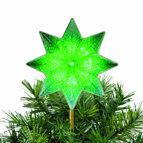Mr. Christmas Starburst Color-Changing Tree Topper