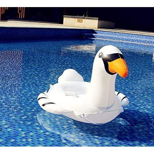 Enfant Gonflable Float Flotteur de Siège de Cygne Gonflable Bébé Mignonne Blanc Piscine Gonflable Bateau de Siège de Piscine Enfants Jouets de Piscine