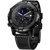 LEMFO LEM6 - 3G Smartwatch Phone (con correa reemplazable), IP67 Waterproof GPS Tracker Quad Core 1.0GHz 1GB + 16GB Anti-perdido