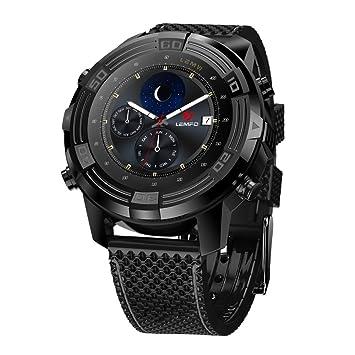 LEMFO LEM6 - Téléphone Smartwatch 3G (avec sangle remplaçable), IP67 imperméable Tracker GPS