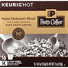 Peets Coffee Dark Roast Major Dickason's Blend