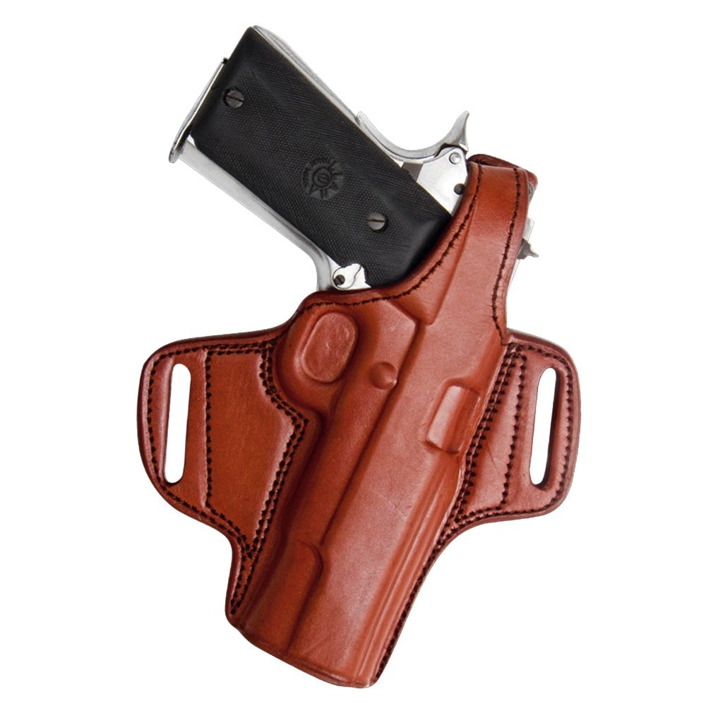 Tagua BH1-007 Thumb Break Belt Holster, Keltec 380/Ruger 380 with Laser, Brown, Right Hand