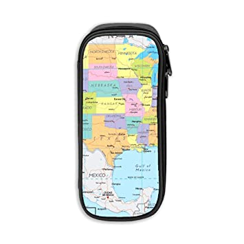 United States Map Cute Waterproof Cosmetic Pouch Amazoncom - Cute-us-map