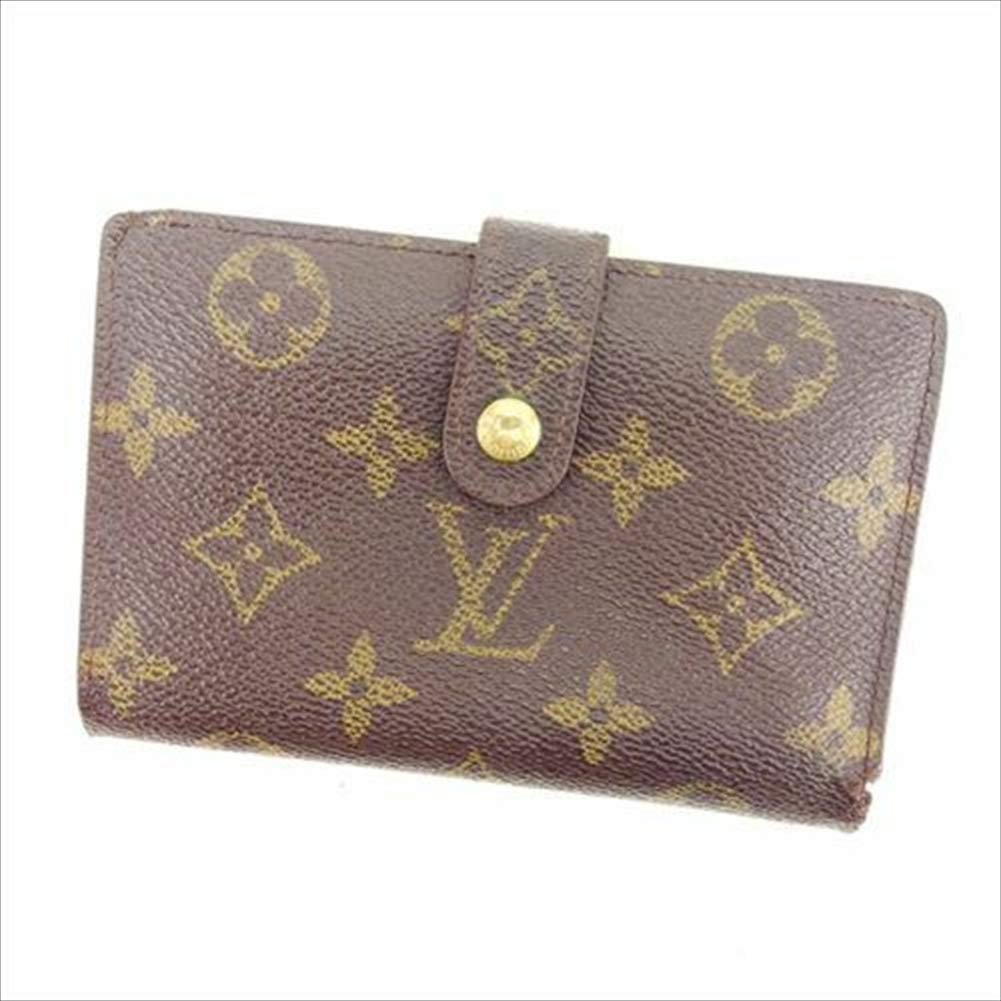 ルイヴィトン Louis Vuitton がま口財布 二つ折り メンズ可 ポルトモネ ビエヴィエノワ M61663 モノグラム 中古 人気 T15467   B07R686D99