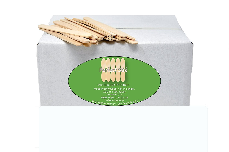 Perfect Stix 114ST-Craft Wooden Stick Box (Pack of 1000)