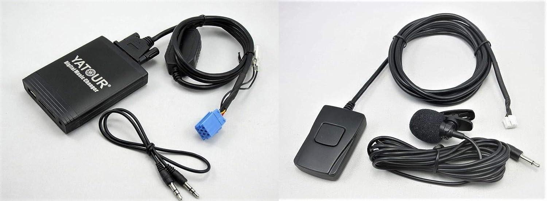 Yatour Yt M06 Ren8 Bt Digitaler Musikadapter Für Usb Elektronik