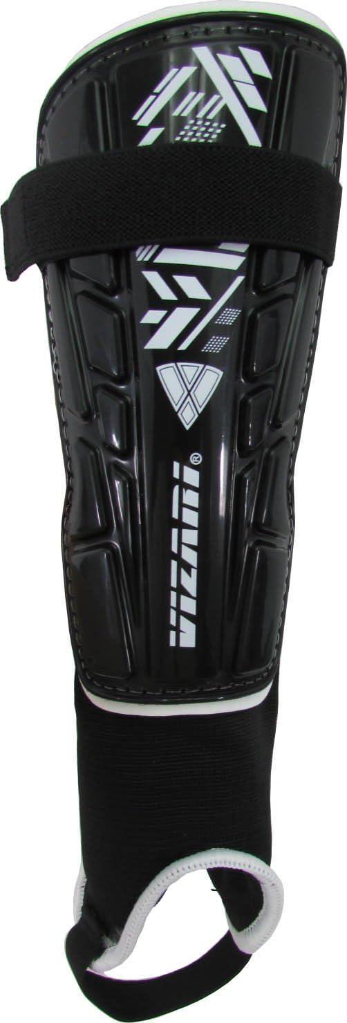 Vizari Malaga Soccer Shin Guards for Kids | Soccer Gear for Boys Girls | Protective Soccer Equipment | Adjustable Straps : Sports & Outdoors