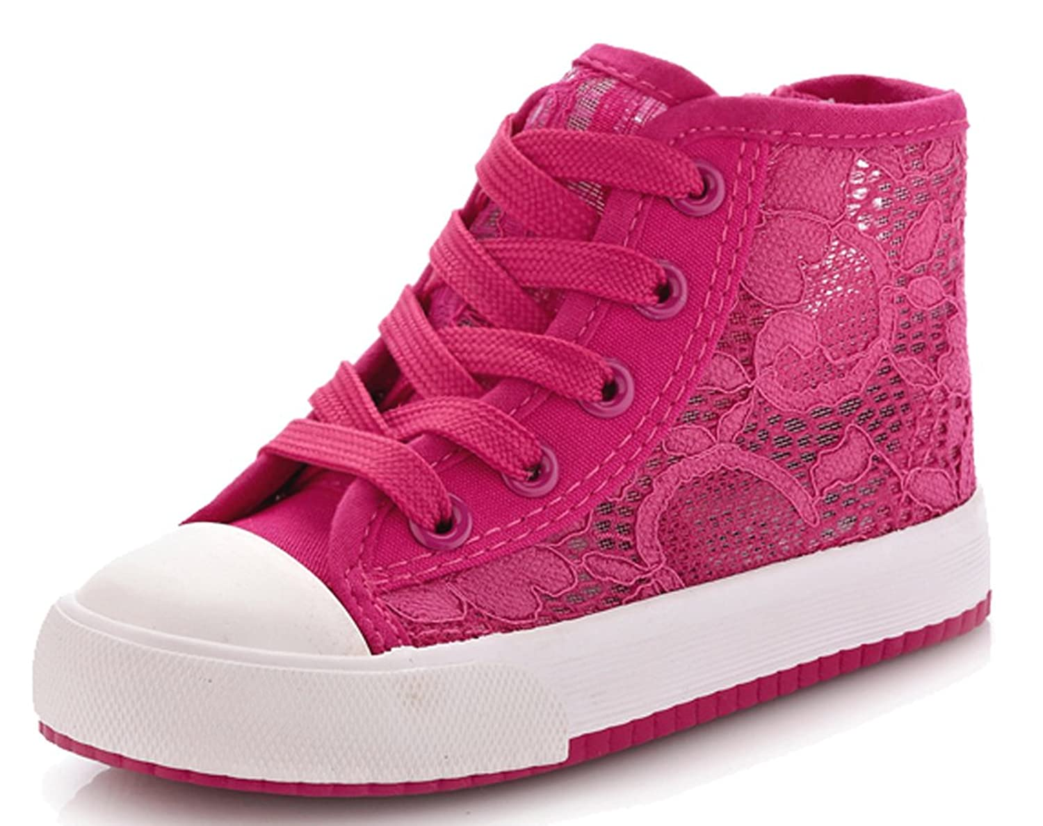 2015 New D.s.mor Toddler Little Kid Big Kid Lace Deco Mesh Shoes Mesh Sneakers