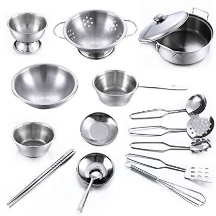 Amazon Com Shapew 16pcs Stainless Steel Kitchen Cooking